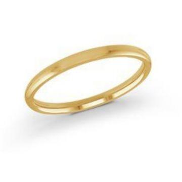 Malo Bands | 14 KT Yellow Gold High Polish 2mm Wedding Band