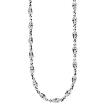 King Baby Small Skull Chain Necklace