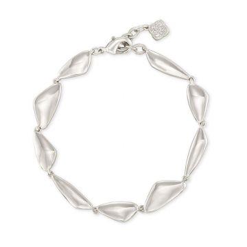 Kendra Scott 14 KT Rodium Plated Kira Link Bracelet