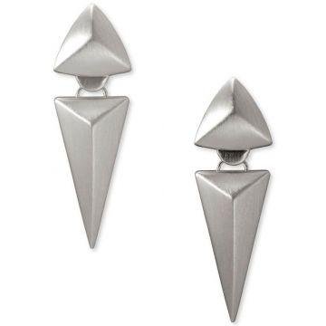 Kendra Scott Rhodium Plated Vivian Statement Earrings