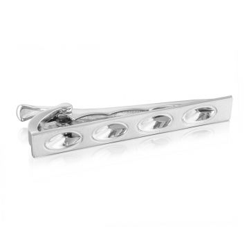 Tacori Sterling Silver Monterey Roadster Men's Tie Bar