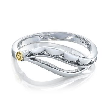 Tacori Sterling Silver Crescent Cove Women's Ring