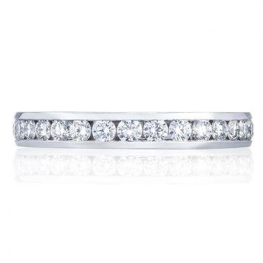 Tacori Platinum Dantela Eternity Diamond Women's Wedding Band