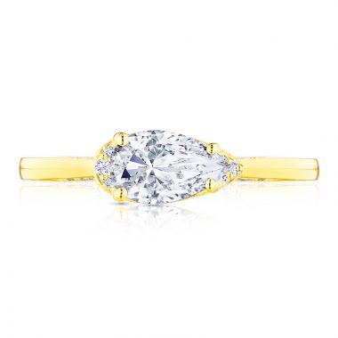 Tacori 18k Yellow Gold Simply Tacori Solitaire Diamond Engagement Ring