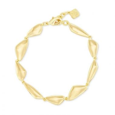 Kendra Scott 14 KT Gold Plated Kira Link Bracelet