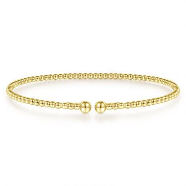 Gabriel & Co. 14k Yellow Gold Bujukan Bangle Bracelet