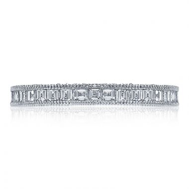 Tacori Platinum Blooming Beauties Anniversary Diamond Women's Wedding Band