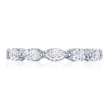 Tacori Platinum RoyalT Eternity Diamond Women's Wedding Band