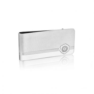 Tacori Stainless Steel White Legend Money Clip
