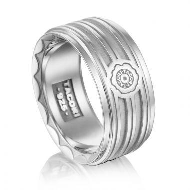 Tacori Sterling Silver Monterey Roadster Men's Ring
