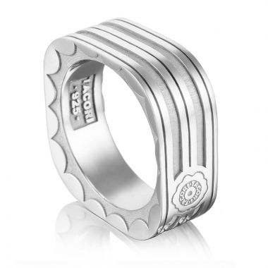 Tacori Sterling Silver Monterey Roadster Men's Ring