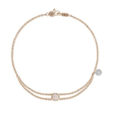 Tacori 18k Rose Gold  Sonoma Mist Diamond Women's Bracelet