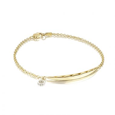 Tacori 18k Yellow Gold The Ivy Lane Women's Bracelet