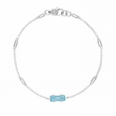 Tacori Sterling Silver Horizon Shine Gemstone Women's Bracelet