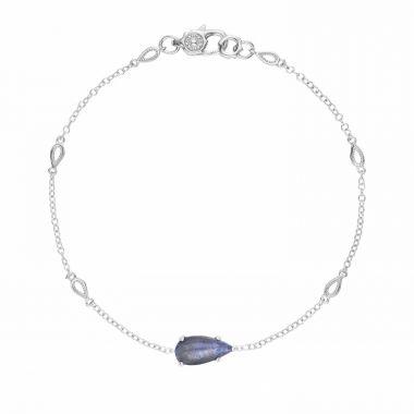Tacori Sterling Silver Horizon Shine Gemstone Women's Bracelet