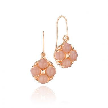 Tacori 18k Rose Gold Crescent Sunset Gemston Drop Earring