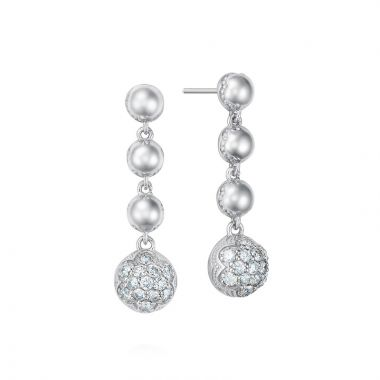 Tacori Sterling Silver Sonoma Mist Diamond Drop Earring