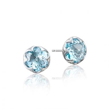 Tacori Sterling Silver Sonoma Skies Gemstone Stud Earring