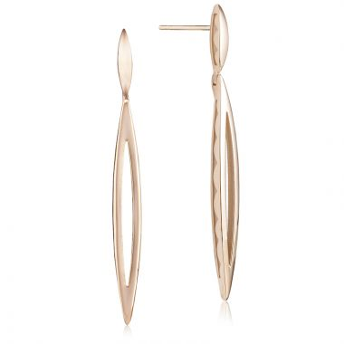 Tacori 18k Rose Gold The Ivy Lane Drop Earring
