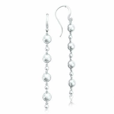 Tacori Sterling Silver Sonoma Mist Drop Earring