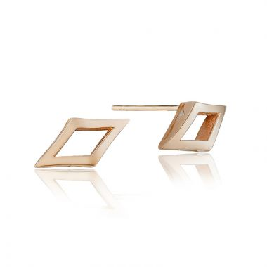 Tacori 18k Rose Gold The Ivy Lane Stud Earring