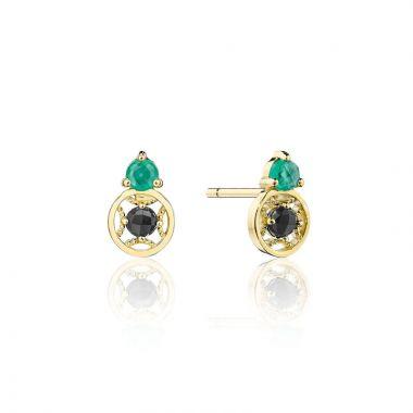 Tacori 14k Yellow Gold Petite Gemstones Gemstone Stud Earring