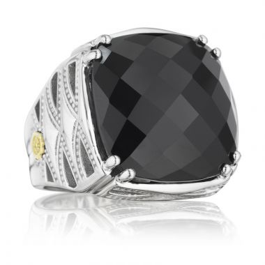 Tacori Sterling Silver Caissa Crescent Gemstone Women's Ring