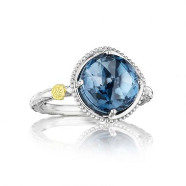 Tacori Sterling Silver Gemma Bloom Gemstone Women's Ring