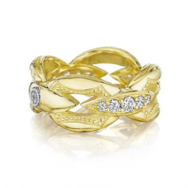 Tacori 18k Yellow Gold The Ivy Lane Diamond Women's Ring