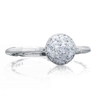 Tacori Sterling Silver Sonoma Mist Diamond Women's Ring