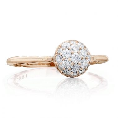 Tacori 18k Rose Gold Sonoma Mist Diamond Women's Ring