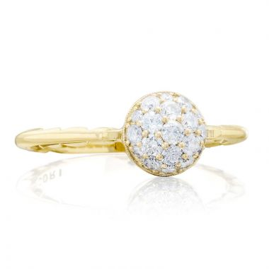Tacori 18k Yellow Gold Sonoma Mist Diamond Women's Ring