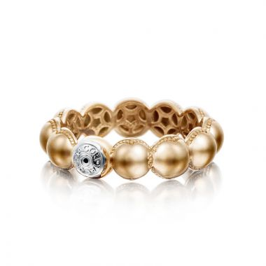 Tacori 18k Rose Gold Sonoma Mist Diamond Women's Ring