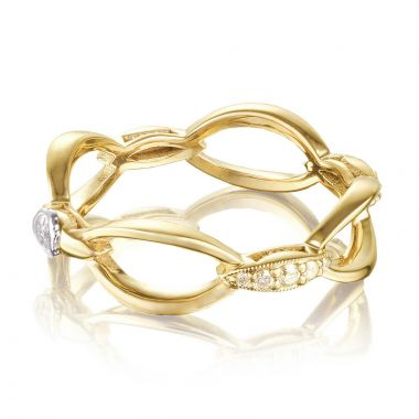 Tacori 18k Yellow Gold The Ivy Lane Diamond Women's Ring