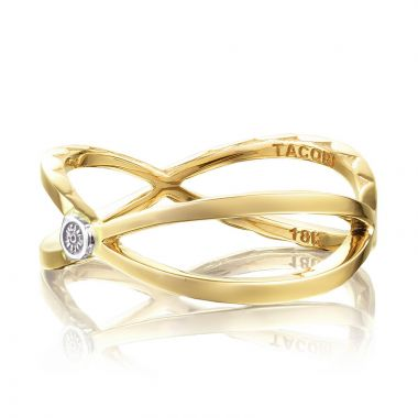 Tacori 18k Yellow Gold The Ivy Lane Women's Ring