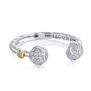 Tacori Sterling Silver Sonoma Mist Diamond Women's Ring