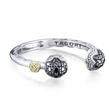 Tacori Sterling Silver Sonoma Mist Diamond and Gemstone Women's Ring