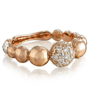 Tacori 18k Rose Gold The Ivy Lane Diamond Women's Ring