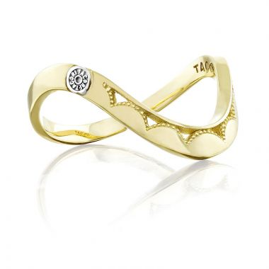 Tacori 18k Yellow Gold Crescent Cove Women's Ring