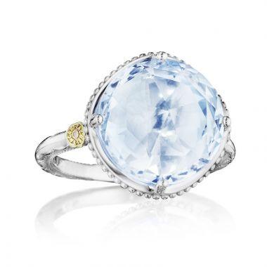 Tacori Sterling Silver Gemma Bloom Gemstone Women's Ring